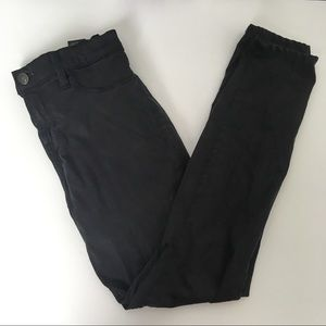 J BRAND skinny pants, black, stretchy